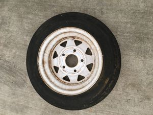Carlisle Spare 480-12 Trailer Tire and Wheel for Sale in Rosemead, CA
