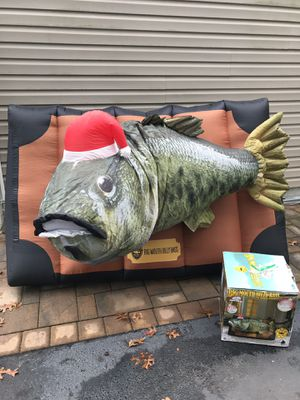 Billy Bass Christmas inflatable for Sale in Mount Sinai, NY