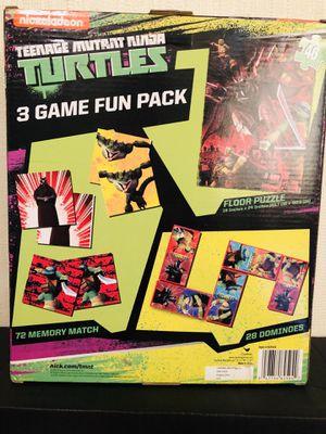 Teenage Mutant Ninja fun pack. for Sale in Downey, CA