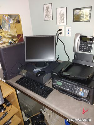 COMPLETE DELL SET UP for Sale in Virginia Beach, VA