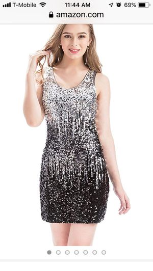 Sequin Glitter Mini Party Dress for Sale in Arlington, VA