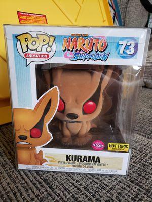 Funko Kurama Flocked Naruto for Sale in Norfolk, VA