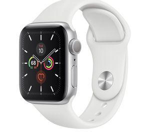 Brand new Apple Watch series 5 40mm silver aluminum gps only each $399 1 Apple warranty for Sale in Malden, MA