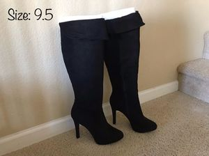 Like New Jessica Simpson Black Suede Boots for Sale in Chula Vista, CA