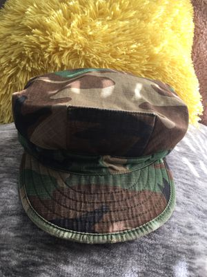 """Authentic """" Military Cadet Cap"""" Style Classic Camouflage -Almost New for Sale in Los Angeles, CA"""
