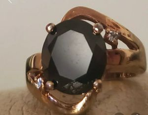 Gold Sz 6 Onyx Ring for Sale in Vancouver, WA