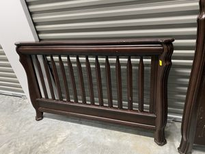 Solid wood Full size bedroom suit/crib/toddler bed for Sale in Savannah, GA