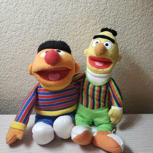 Bert and Ernie Sesame Street Seaworld Plushes for Sale in Chula Vista, CA