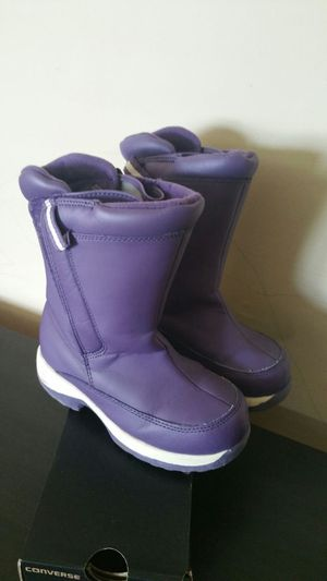 Lands end snow boots size 12 kids for Sale in Springfield, VA
