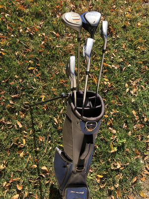 Ram golf bag and clubs for Sale in Las Vegas, NV