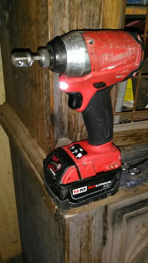 Milwaukee Fuel 18V Impact drill for Sale in Laveen Village, AZ