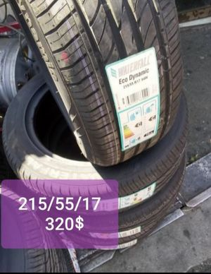 Set of New 215/55/17 Tires for Sale in Paramount, CA