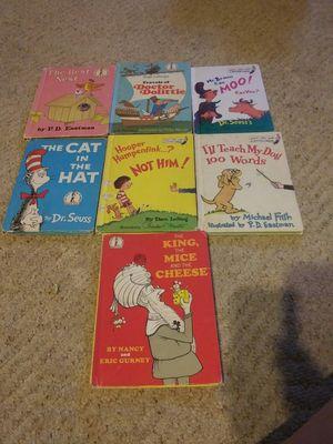 Vtg. Dr. Seuss books for Sale in Caro, MI