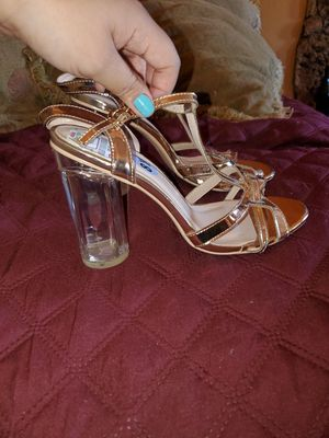 Brand new Rose Gold Heels 👠 for Sale in Compton, CA