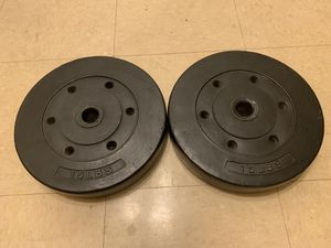 2-15 Weights Used indoor good condition for Sale in Rancho Cucamonga, CA