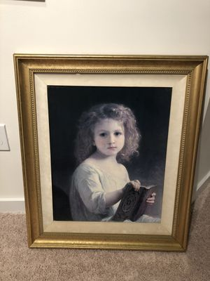 """Storybook"" Painting With Frame for Sale in Holly Springs, NC"