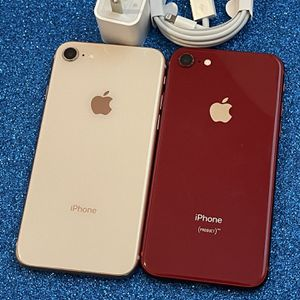 IPhone 8 64gb Red And Gold UNLOCKED $260 Each‼️ for Sale in Round Rock, TX
