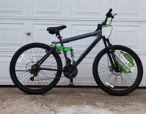 Mountain bike 26 inch tires Genesis mens bicycle 21 speed BRANDNEW NEWLY ASSEMBLED - READY TO RIDE- for Sale in National City, CA