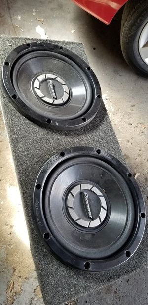 """Pioneer 12"""" subwoofers TS-W300R for Sale in Chicago, IL"""