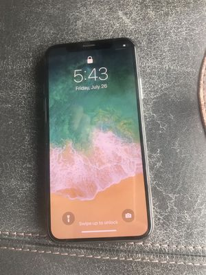 iPhone X 64gb AT&T for Sale in Hialeah, FL