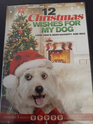 12 CHRISTMAS Wishes For My Dog (DVD) for Sale in Lewisville, TX