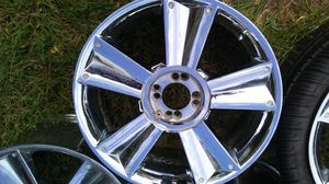 Beautiful universal 4 lug rims - great condition just need shiny up again...comes with center caps. They are eyecatchers for sure! for Sale in Stafford, VA