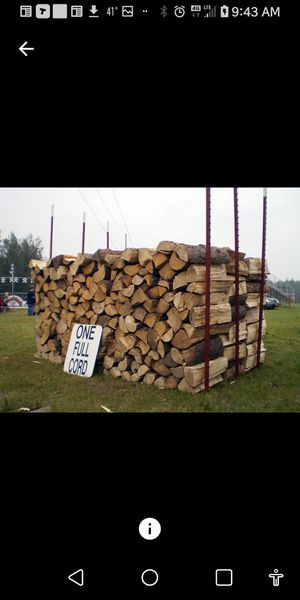 Firewood for Sale in Marysville, WA