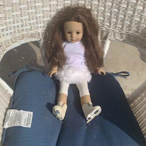 American Girl Doll Ice Skater for Sale in Fullerton, CA
