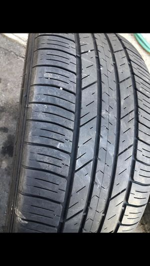 Tire size 245/45/18 good condition for Sale in Providence, RI