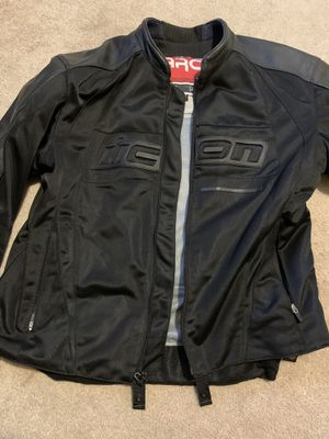 Men's ICON motorcycle jacket 2XL for Sale in Durham, NC