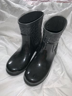 Women's Coach rain boots size 5 for Sale in San Francisco, CA