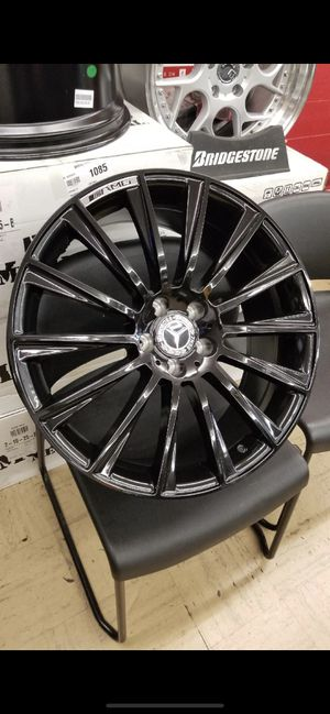 """Mercedes 19"""" new amg style rims tires set for Sale in Hayward, CA"""