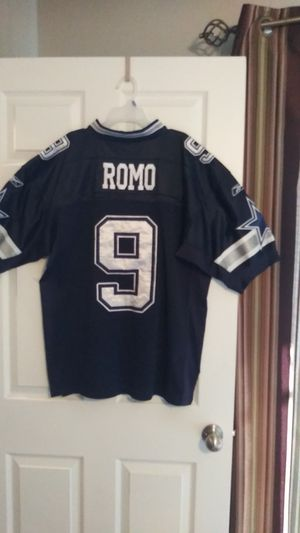Cawboys jersey size 48 authentic RBK TONY ROMO used normal for Sale in Dallas, TX