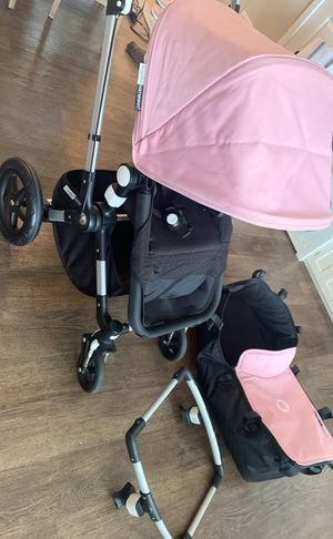 Bugaboo Cameleon stroller w/ bassinet and car seat holder for Sale in Glen Mills, PA