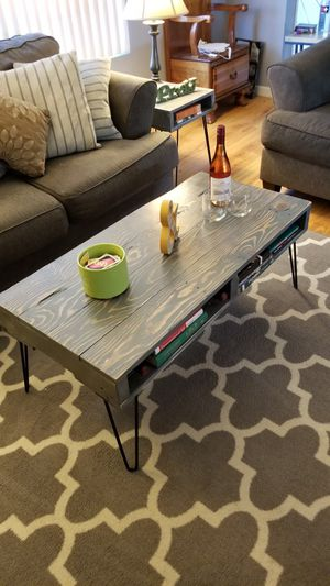 Coffee table and end tables for Sale in San Diego, CA