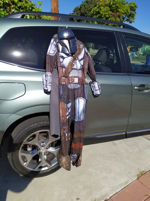 Mandalorian Kids Costume (Large or size 14/16 kids) for Sale in Imperial Beach, CA