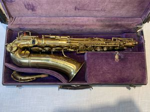 RARE Vintage Adolphe Sax Low Pitch Trill Alto Saxophone Paris 1900-1907 + Case for Sale in Brooklyn, NY