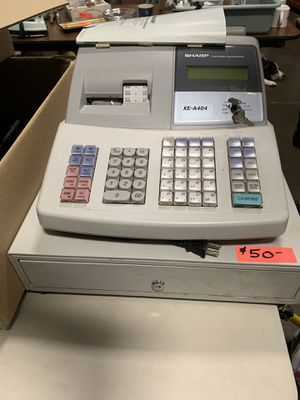 Sharp electronic cash register for Sale in Olympia, WA