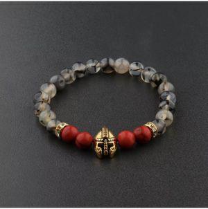Spartan Gladiator Helmet Bracelet Red/Grey/Gold for Sale in Burbank, CA