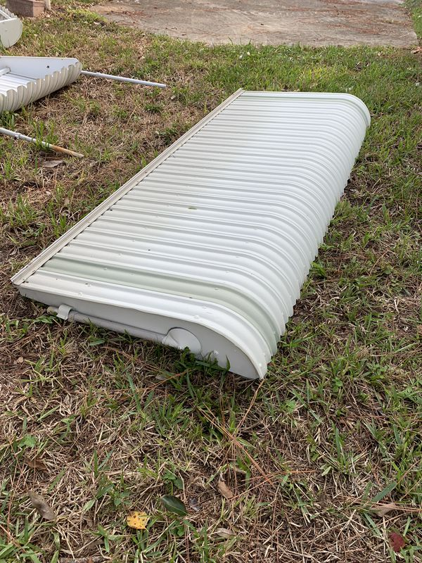 Aluminum shutters / awnings / clamshell for windows or ...