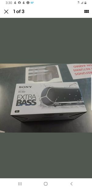 Sony BLUETOOTH SPEAKER brand new price firm nathing less for Sale in Spring, TX