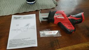 Milwaukee m12 hackzall tool only for Sale in Salt Lake City, UT