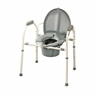 MedPro Comfort Plus Commode Chair With Adjustable Height and Extra Wide Ergon for Sale in Des Plaines, IL