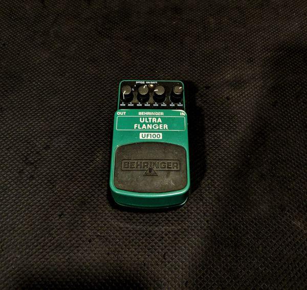 Behringer Ultra Flanger Guitar Effects Pedal