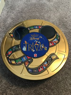 Disney Trivia Game in Collectible Tin for Sale in Kyle, TX
