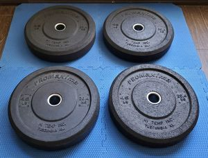 HI-TEMP BUMPER PLATES for Sale in Riverside, CA