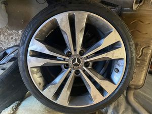 Rims + tires Mercedes-benz Cla 250 2018 for Sale in Fresno, CA