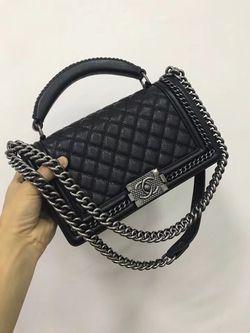 Chanel 30 cm Lé Boy Bag for Sale in Portland,  OR