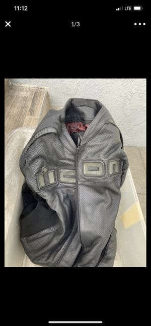 ICON Motorcycle jacket for Sale in Glendale, CA