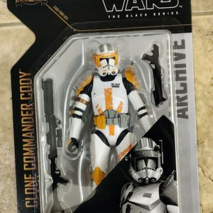 Star Wars The Black Series Archive Clone Commander Cody 6 Inch Action Figure for Sale in Chandler, AZ